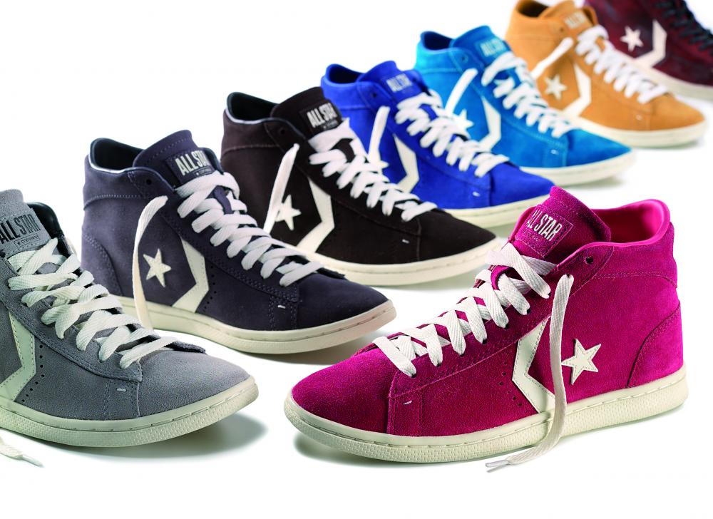 PRO-LEATHER-COLORS Converse