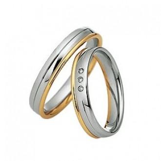 кольца из белого золота без камней
