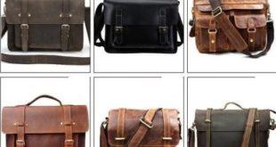 Модные мужские кожаные сумки 2018